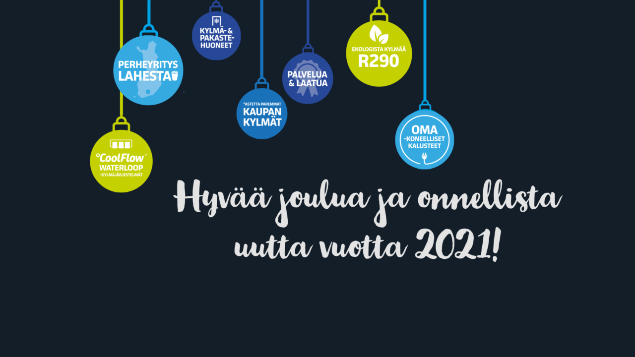 Haluamme kiittää asiakkaitamme ja yhteistyökumppaneitammekuluneesta vuodesta!
