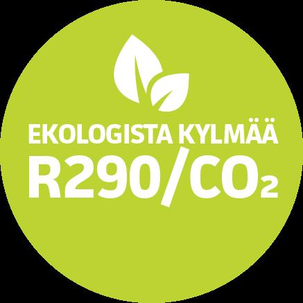 Ekologista kylmää R290/CO2