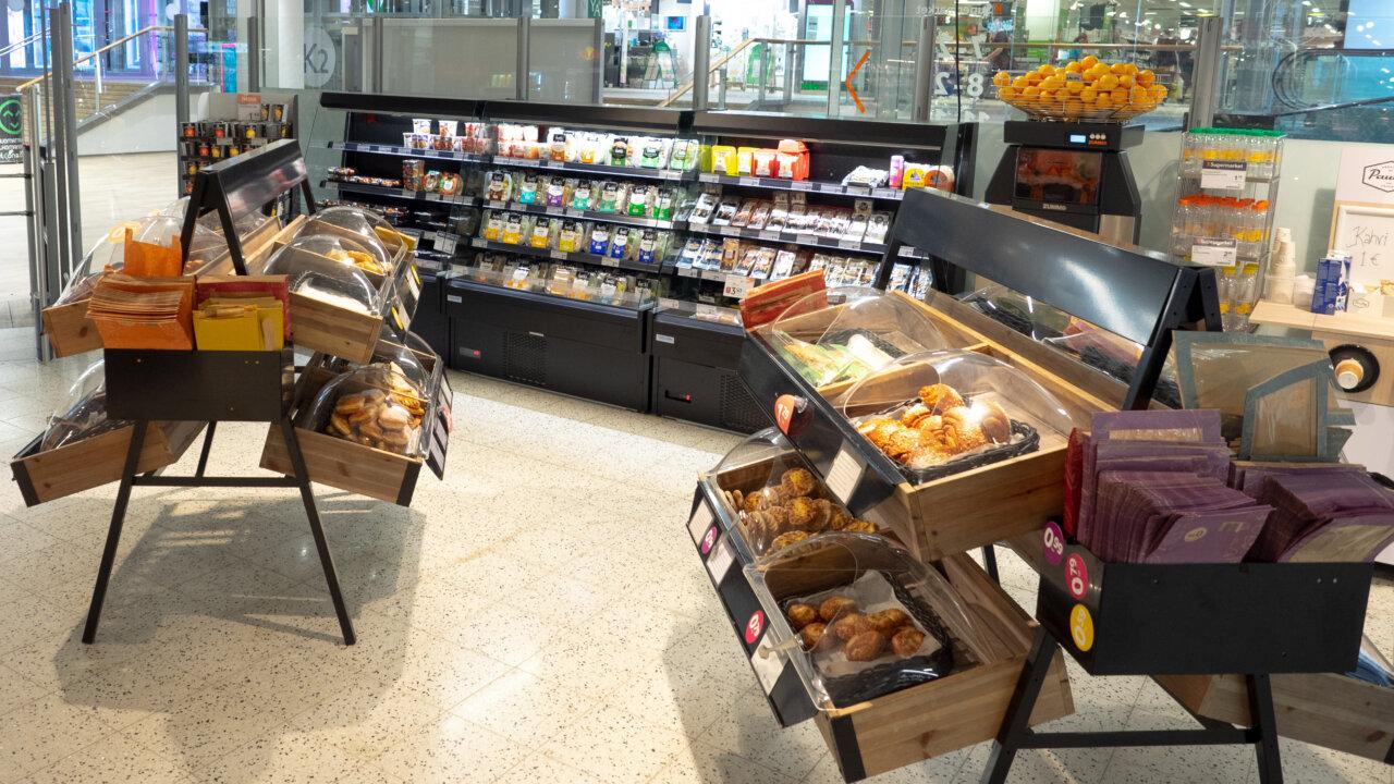 Ravintolaruuat ja kaupan kylmähylly ovat toimiva yhdistelmä!