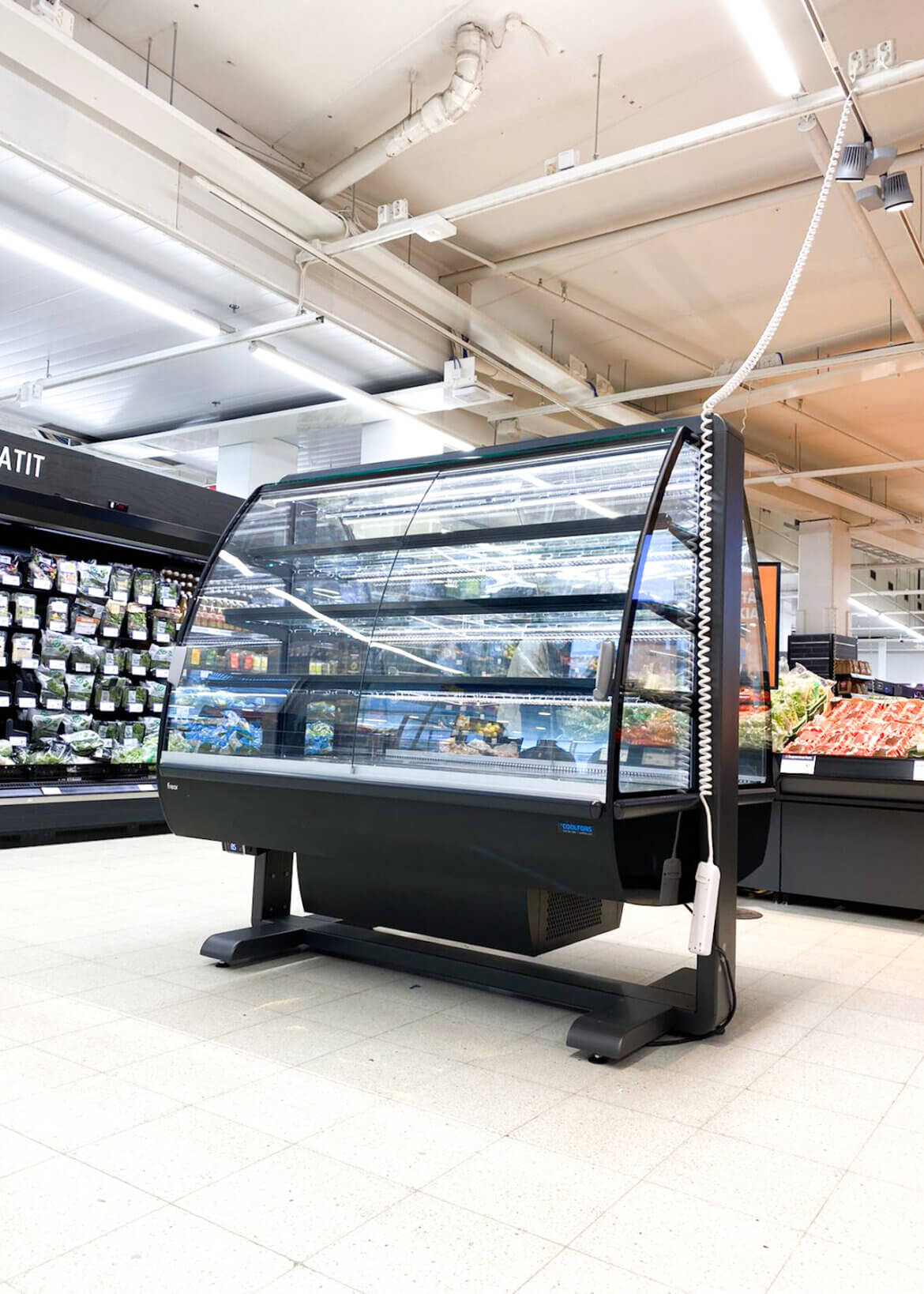 K-Supermarket Yliveto EXO -kylmähyllykkö