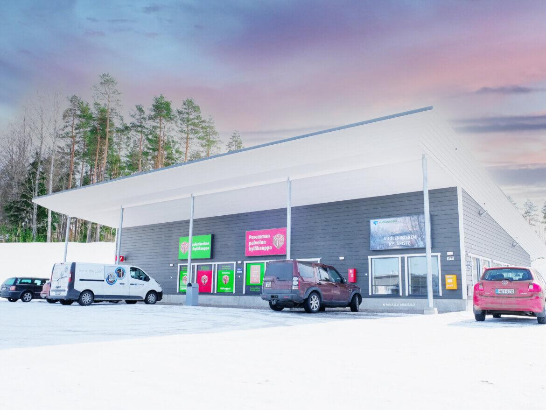 Vuolenkosken kyläkauppa ja vuolenkosken kyläkeskus. CoolFors Finland Oy Referenssi, kylmäkalusteet. Valokuvaaja: Mikaela Mäkitalo